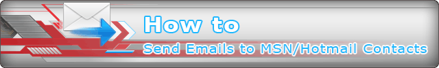 How to Export Your MSN/Hotmail Contacts and Send Bulk Emails to Them